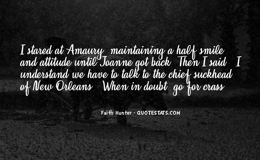 Quotes About Half Smile #1174135