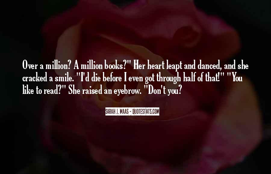 Quotes About Half Smile #1290717