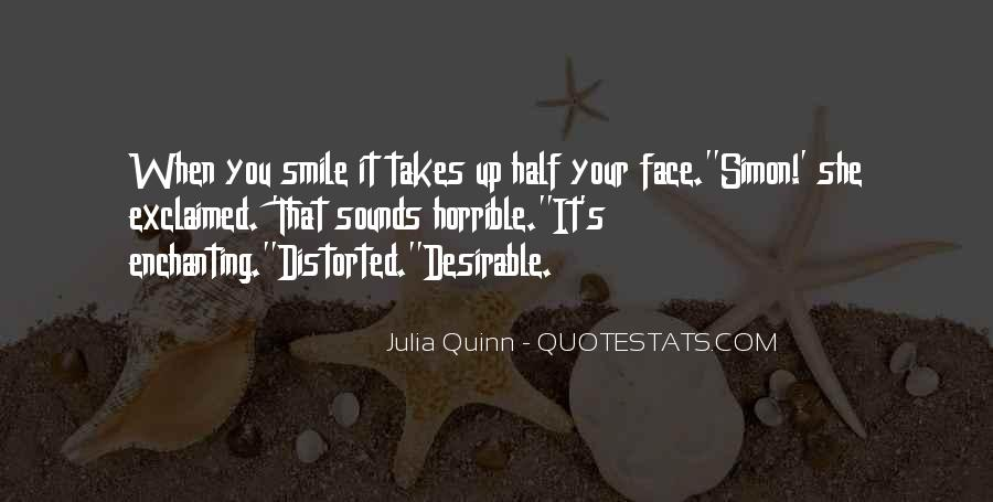 Quotes About Half Smile #255433