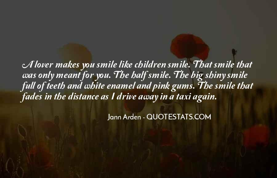 Quotes About Half Smile #41383