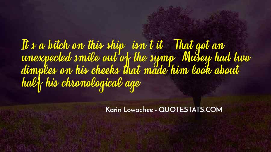 Quotes About Half Smile #457818