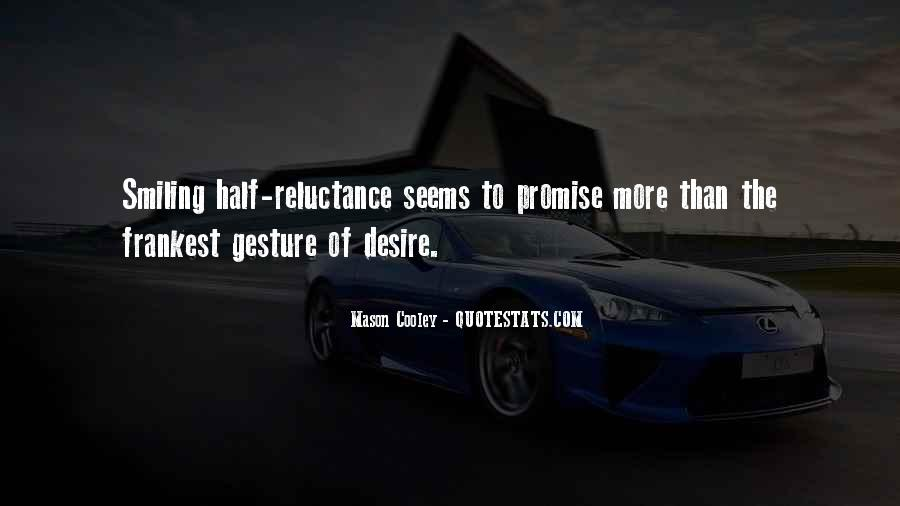 Quotes About Half Smile #765907
