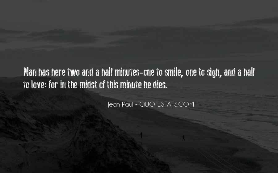 Quotes About Half Smile #983397