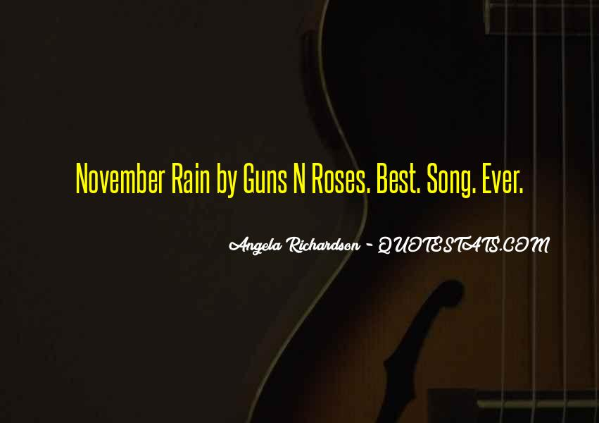 Quotes About Guns And Roses #258008