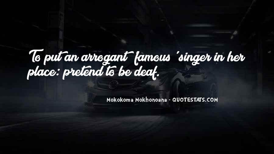 Famous Singer Sayings #1760290