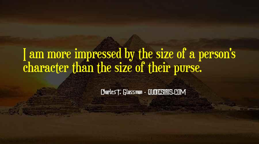 Size Quotes And Sayings #1230273