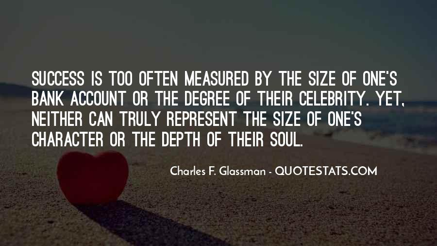 Size Quotes And Sayings #411070