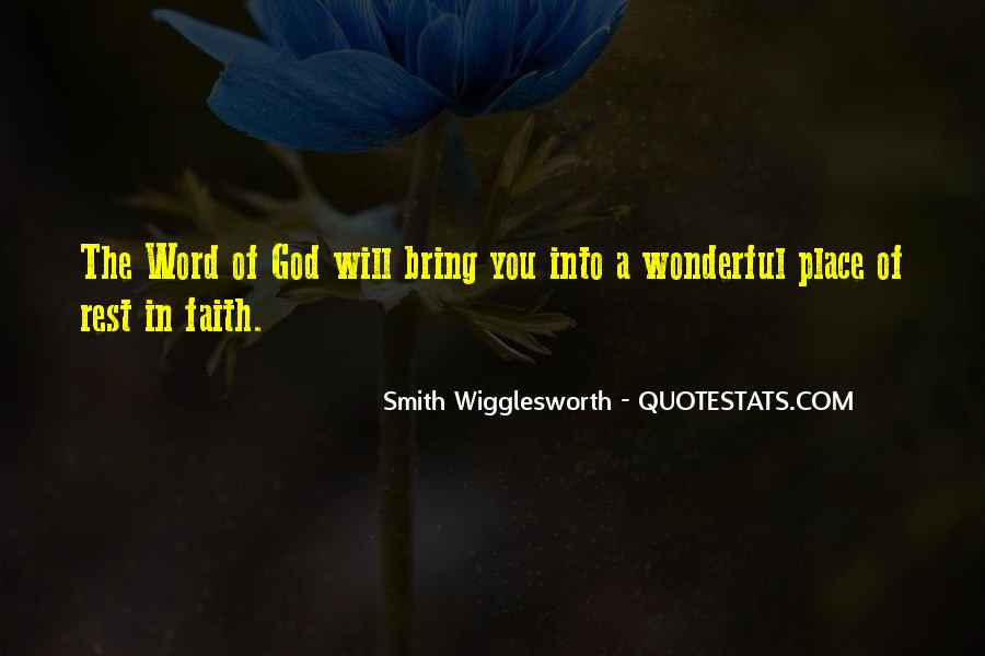 Smith Wigglesworth Sayings #1039009