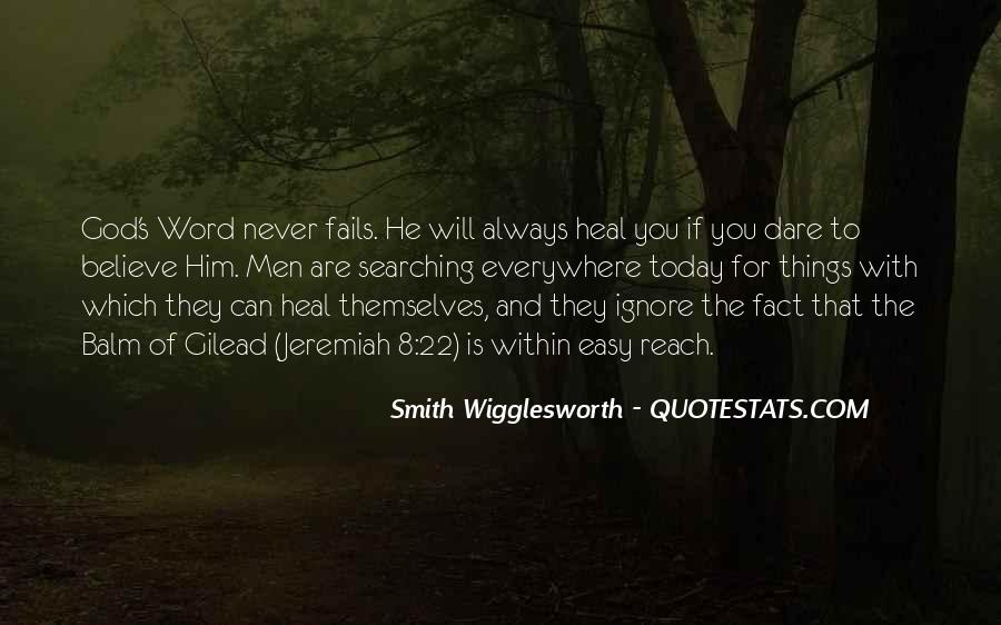 Smith Wigglesworth Sayings #1348526