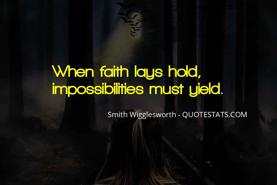 Smith Wigglesworth Sayings #1392139