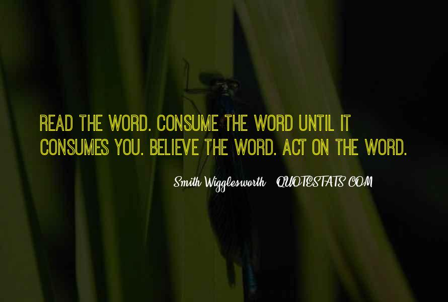 Smith Wigglesworth Sayings #1460397