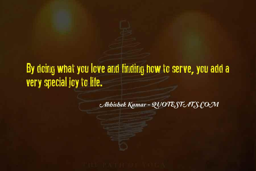 Special Quotes And Sayings #1677664