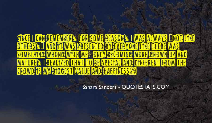 Special Quotes And Sayings #413314