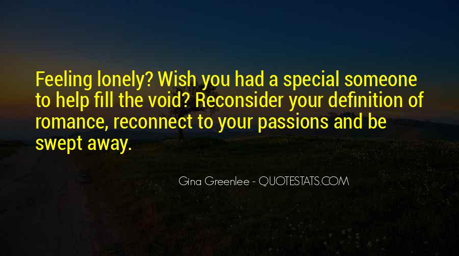 Special Quotes And Sayings #652606