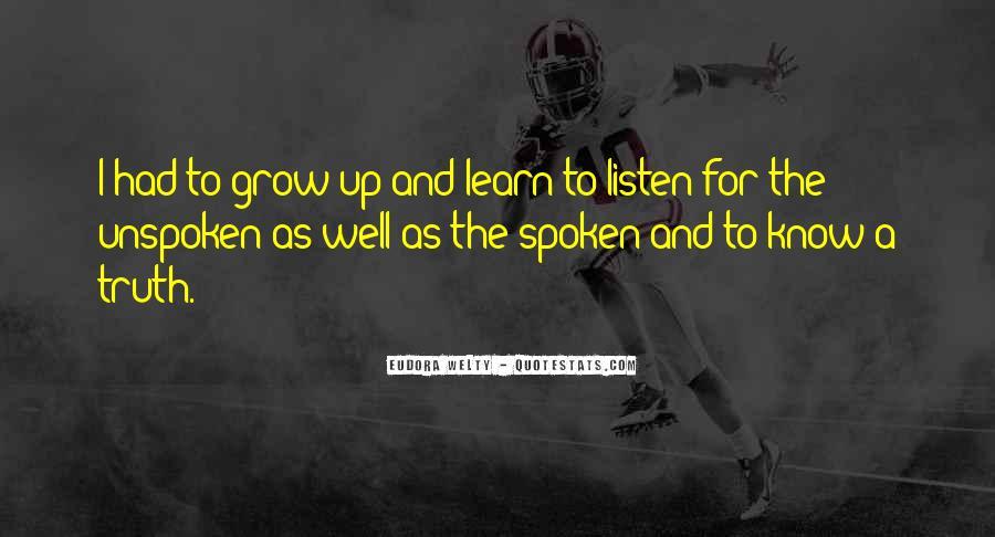 Well Spoken Sayings #141671