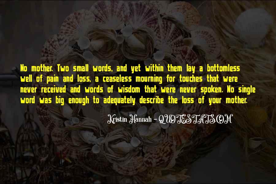 Well Spoken Sayings #1627825