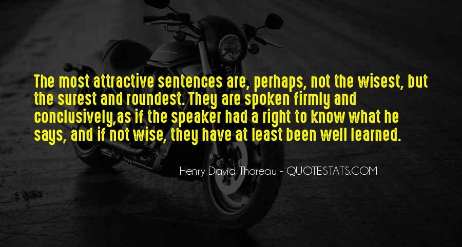 Well Spoken Sayings #36581