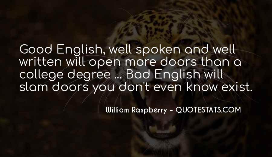 Well Spoken Sayings #397886