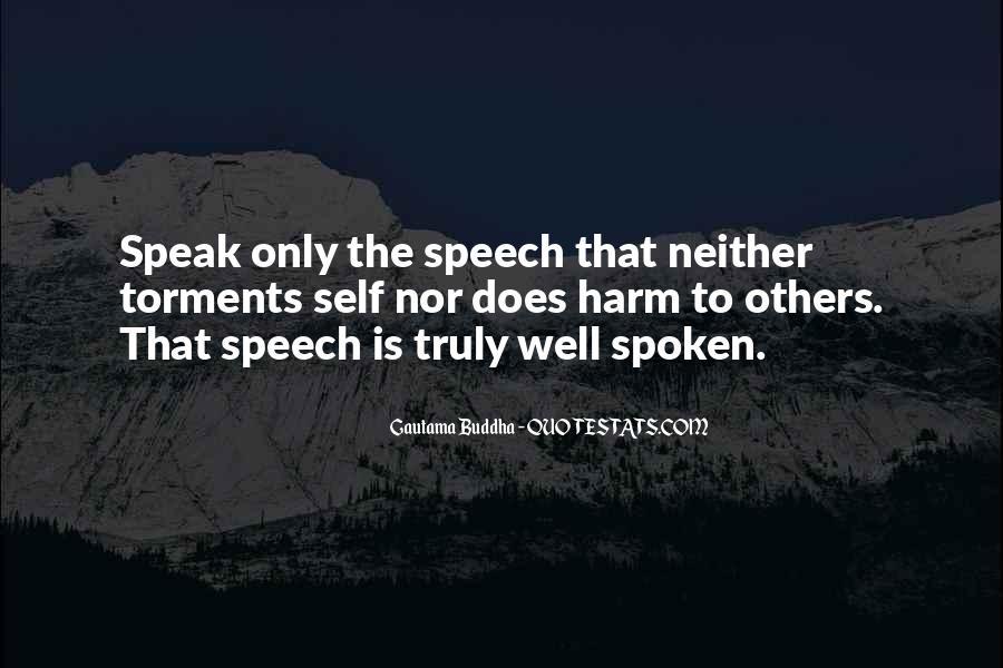 Well Spoken Sayings #430842