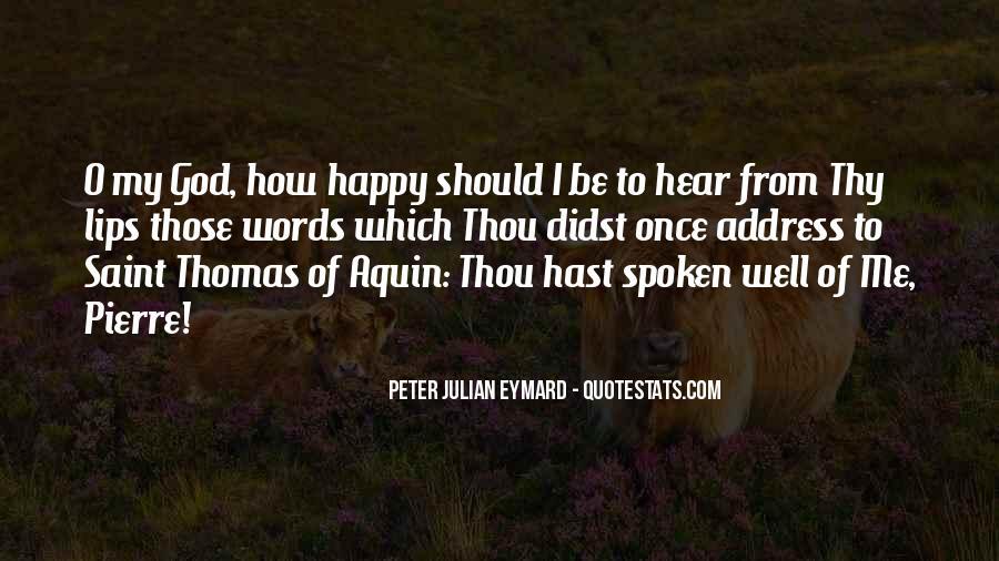 Well Spoken Sayings #65674