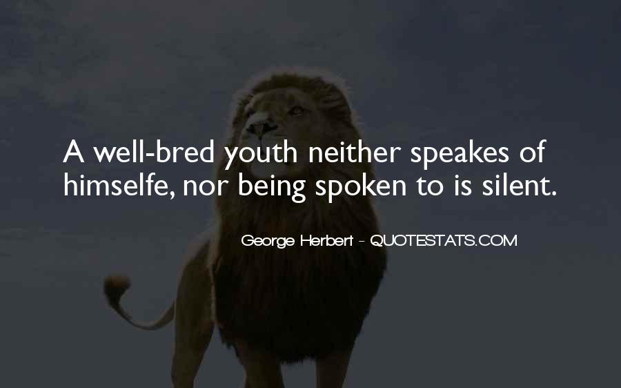 Well Spoken Sayings #722120