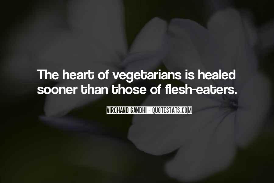 Quotes About Vegetarians #1088752