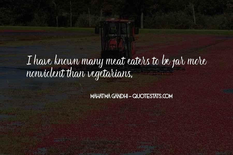 Quotes About Vegetarians #1165370