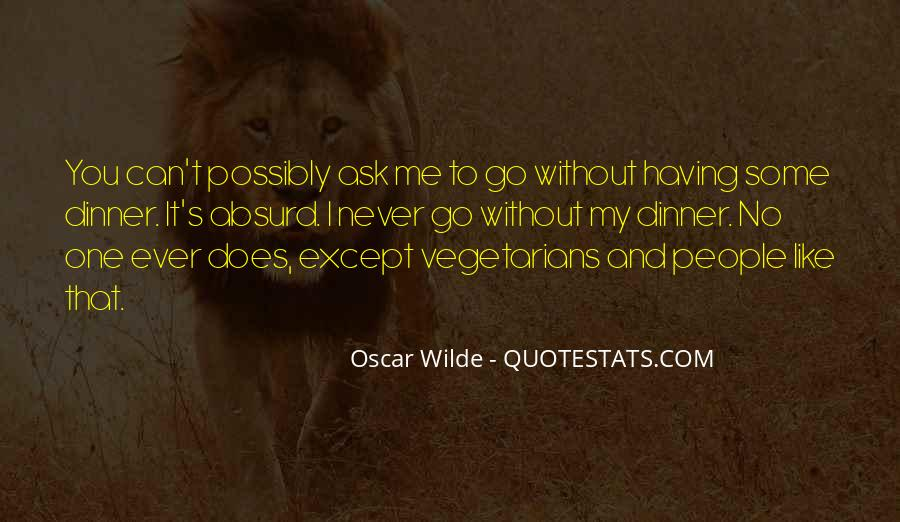 Quotes About Vegetarians #1731213