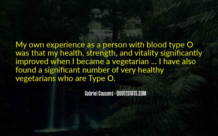 Quotes About Vegetarians #1760937