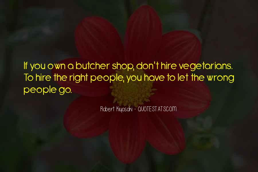Quotes About Vegetarians #20463