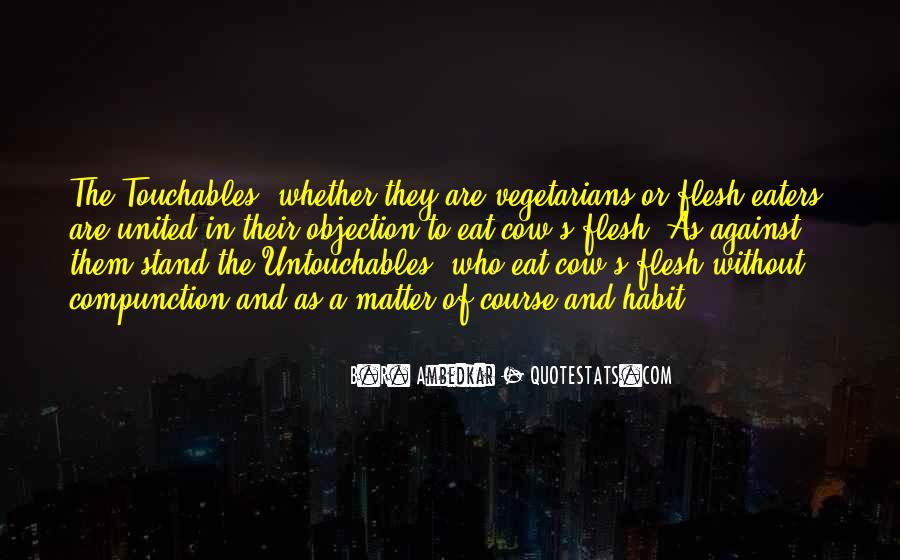 Quotes About Vegetarians #257913
