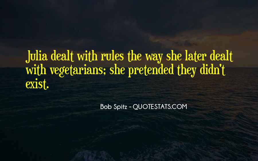 Quotes About Vegetarians #388875