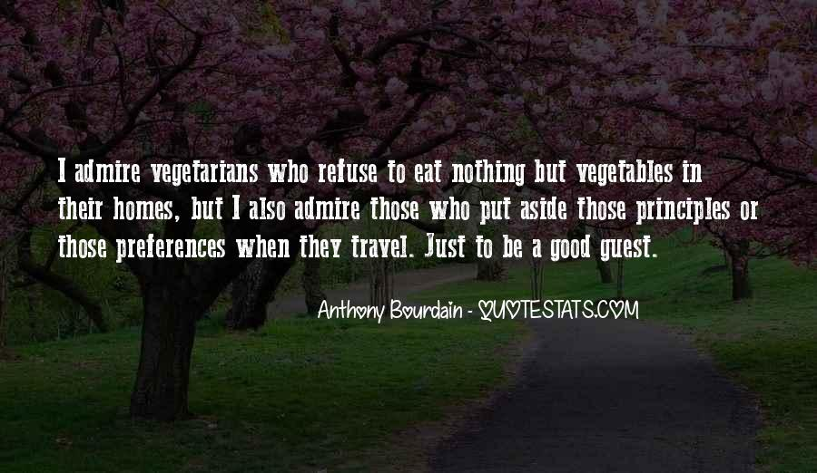 Quotes About Vegetarians #904132