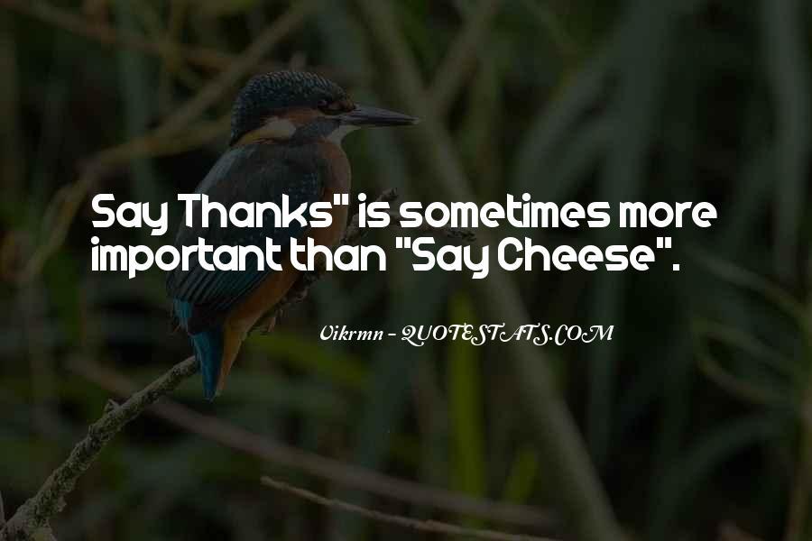 Thanksgiving Thanks Sayings #313318