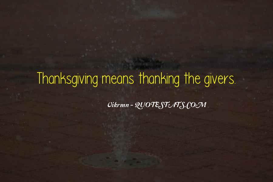 Thanksgiving Thanks Sayings #972453