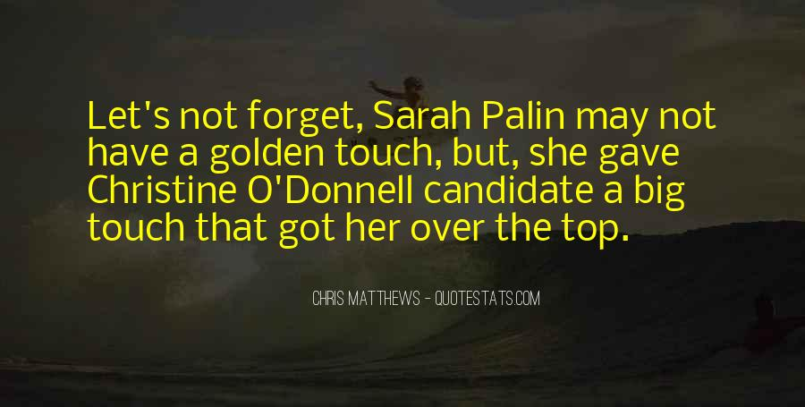 Golden Touch Sayings #1430003