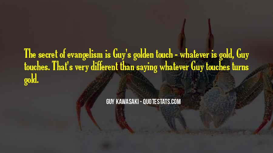 Golden Touch Sayings #1527615