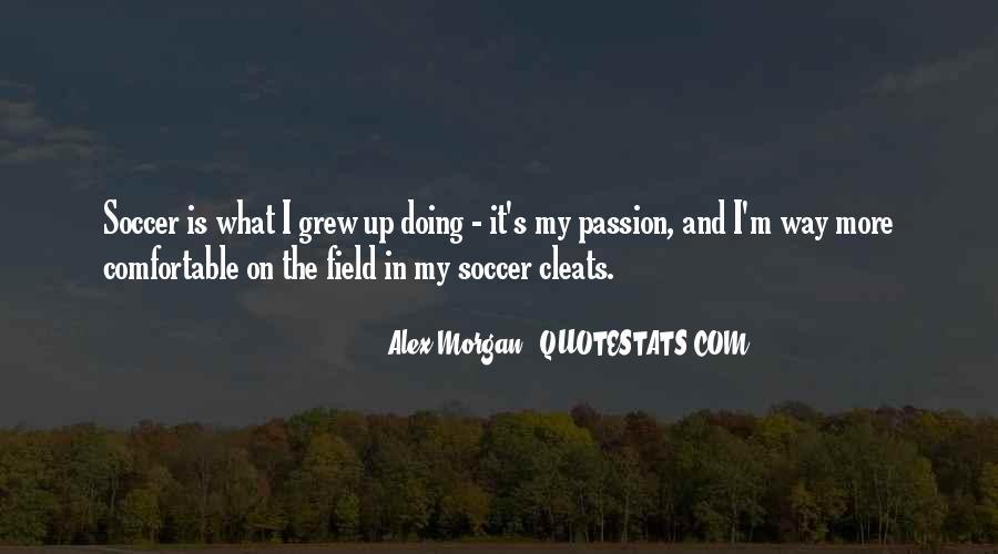 Alex Morgan Soccer Sayings #927078