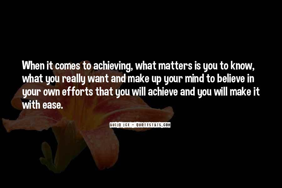 Achievement Quotes And Sayings #1540424
