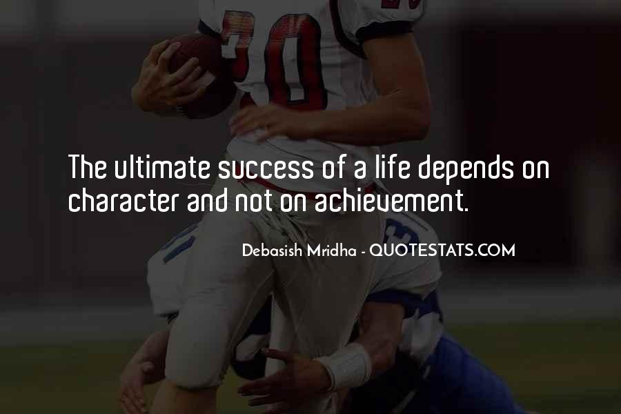 Achievement Quotes And Sayings #1870556