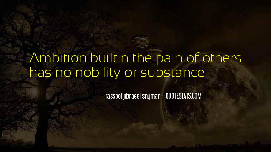 Ambition Quotes And Sayings #1227258
