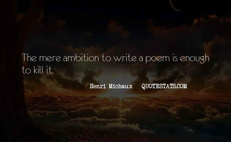 Ambition Quotes And Sayings #134359
