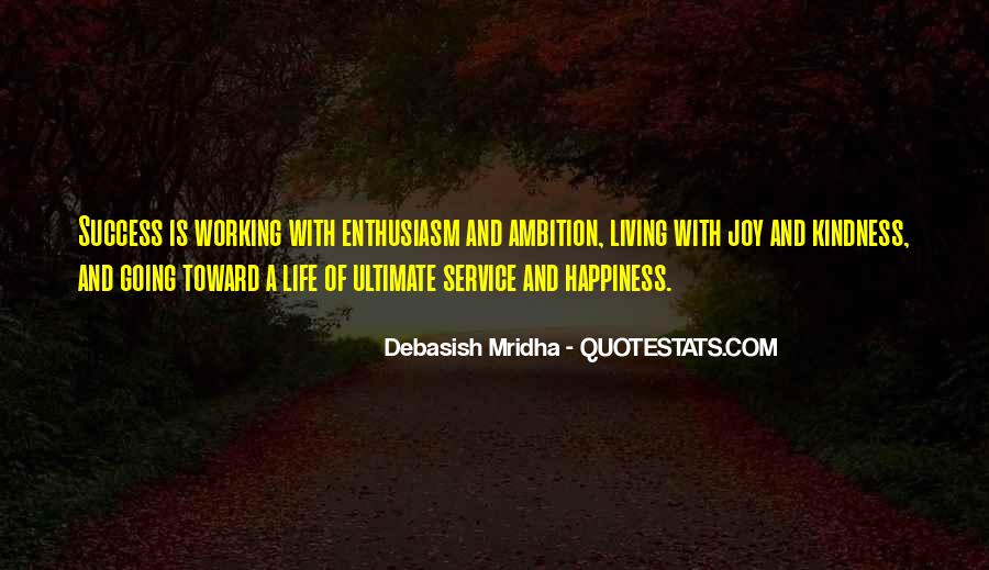 Ambition Quotes And Sayings #1497622