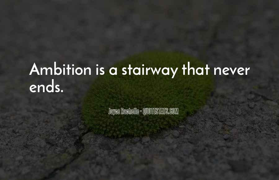 Ambition Quotes And Sayings #192023