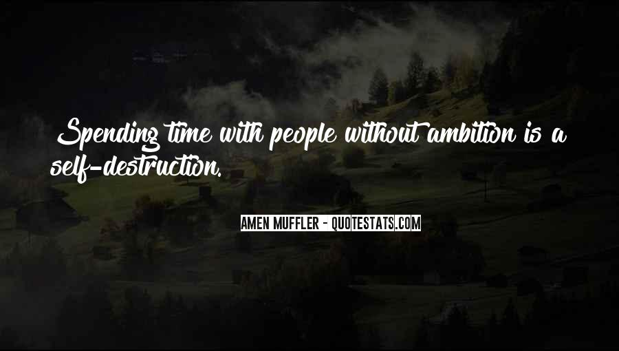 Ambition Quotes And Sayings #999769