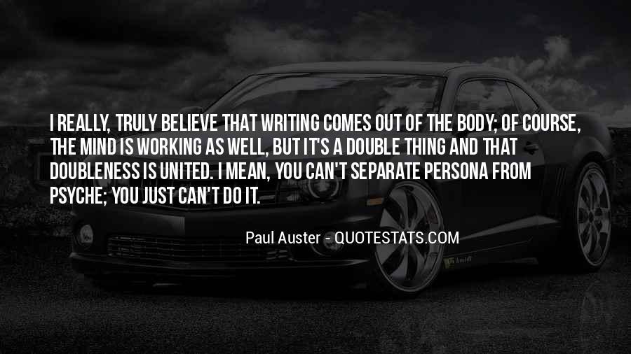 Paul Auster Sayings #103844