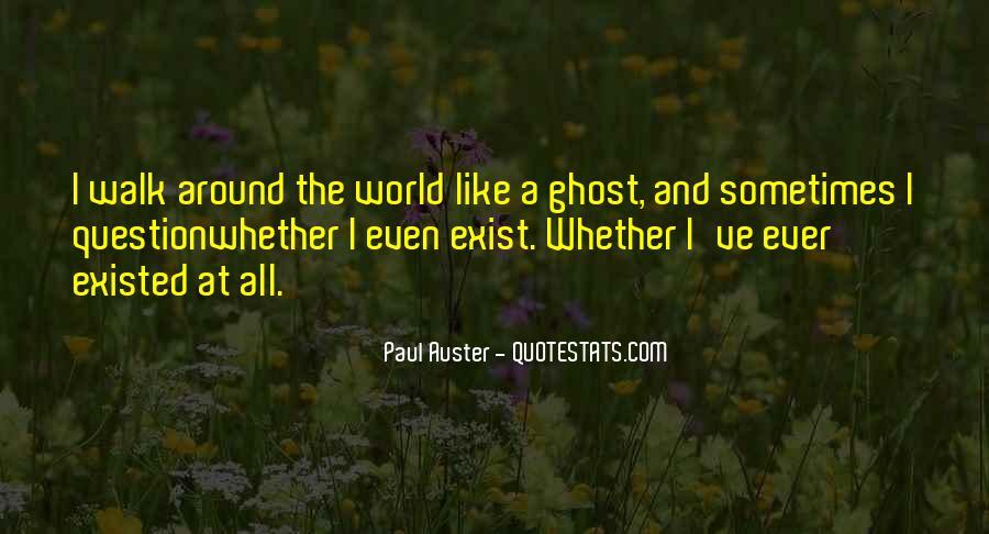 Paul Auster Sayings #105129