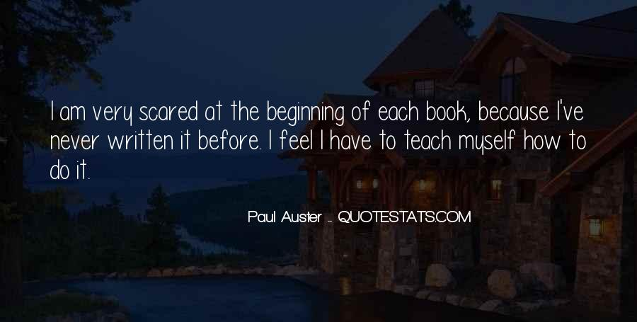 Paul Auster Sayings #122176