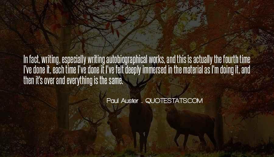 Paul Auster Sayings #164426