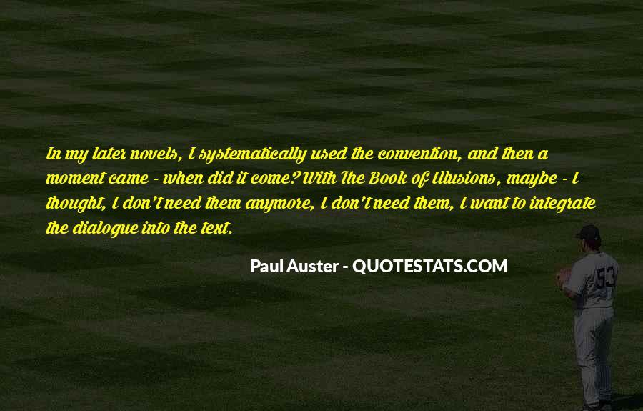 Paul Auster Sayings #203121